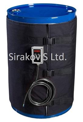 нагревател за бидон, нагреватели за бидон, нагревател за варел, нагреватели за варели, нагревател за туба, нагреватели за туба, нагревател за резервоар, нагреватели за резервоари, бандажни нагреватели, нагревател за контейнер, нагреватели за контейнери, нагревател за IBC контейнер, нагреватели за IBC контейнери, нагревтели, нагревател