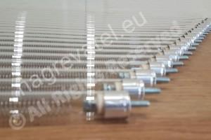 Кварцов нагревател d=18mm L=760mm 600W 230V