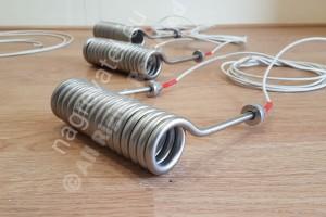 Спираловиден тръбен нагревател